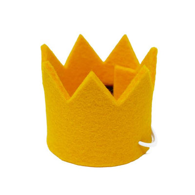 Party Beast Crown - Yellow