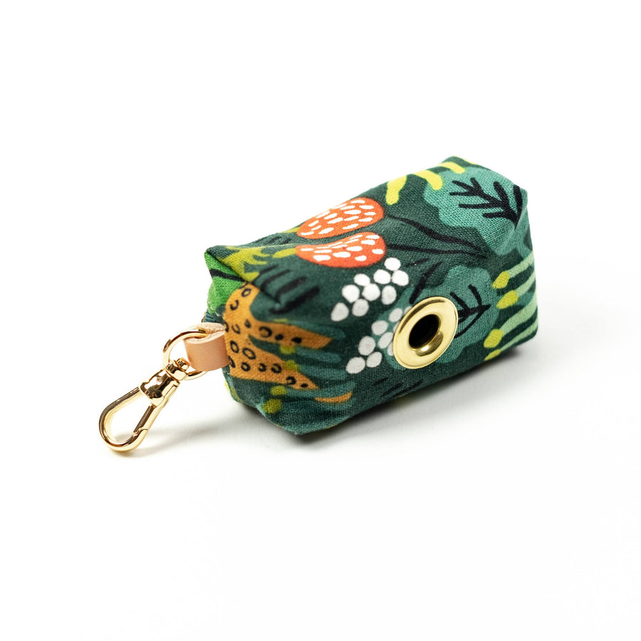 Whimsical Jungle Leash Bag Leash Accessories The Foggy Dog