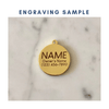 Good Girl Enamel Charm / ID Tag (Free Custom Engraving)