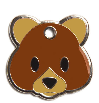 Teddy Bear ID Tag (Free Custom Engraving!)