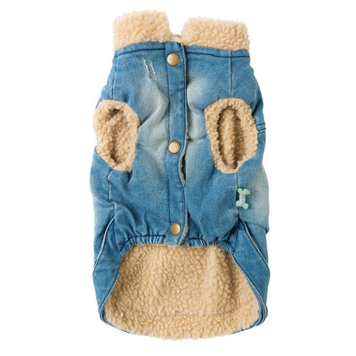 Rebel Denim Jacket Clothing Fuzzyard