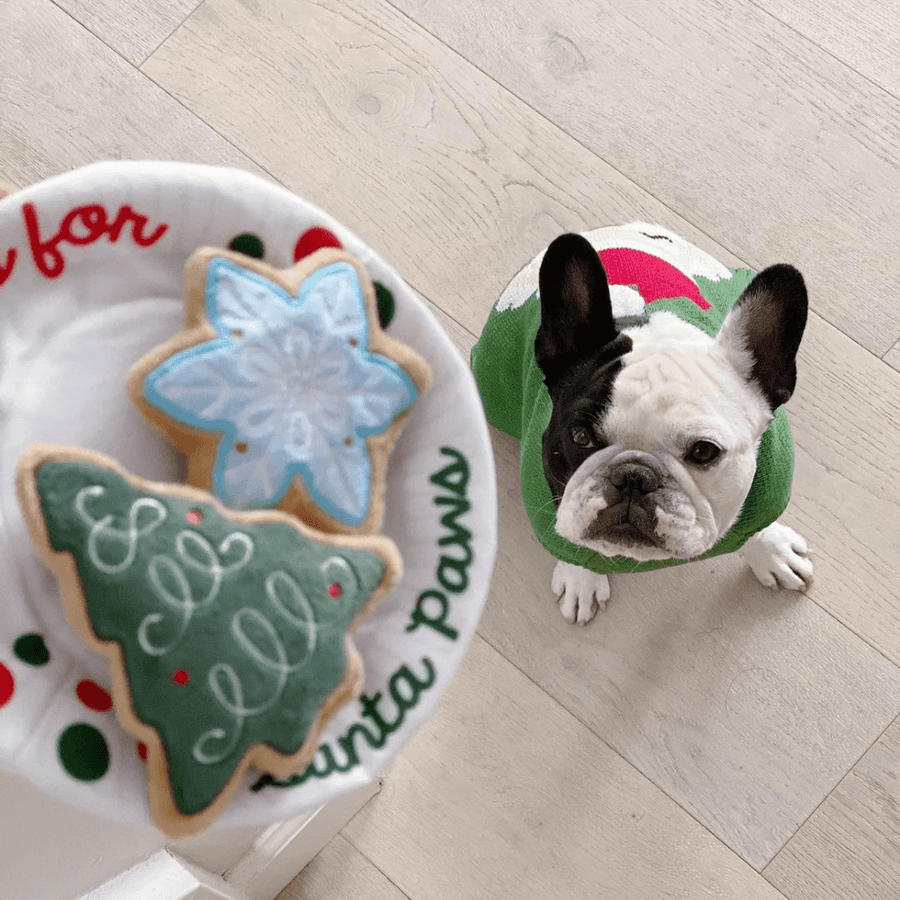 Christmas Eve Cookies Holiday Dog Toy (PRE-ORDER ETA: 11/27)