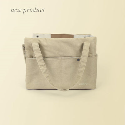 Small Day Bag - Cream Lemon
