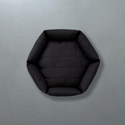 Hex Cushion Bed - Pewter