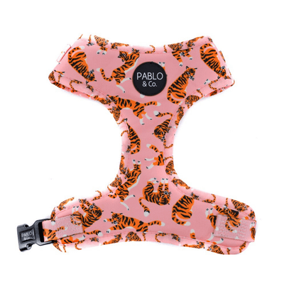 Pink Tigers Adjustable Harness