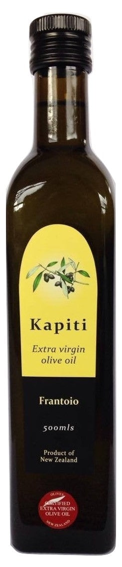 Kapiti, 500ml Frantoio Extra Virgin Olive Oil, Kapiti Coast, NZ - twisted-tree-nz-olive-oil