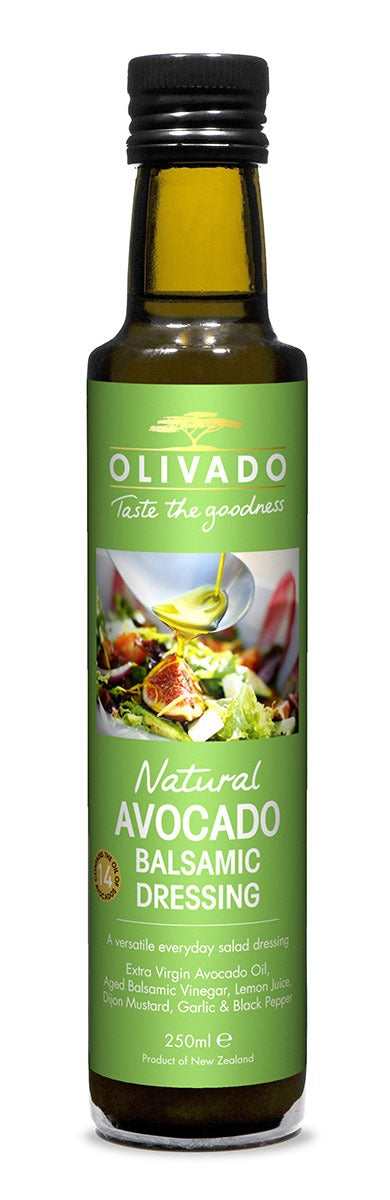 Olivado, 250ml Avocado Balsamic Dressing, Kerikeri, NZ - twisted-tree-nz-olive-oil