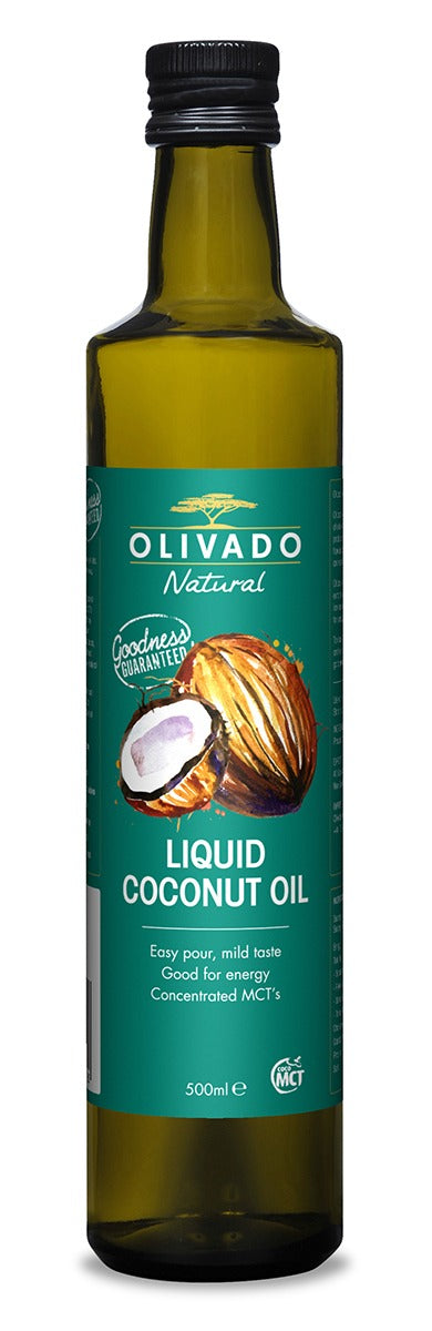 Olivado, 500ml Liquid Coconut Oil, Kerikeri, NZ - twisted-tree-nz-olive-oil