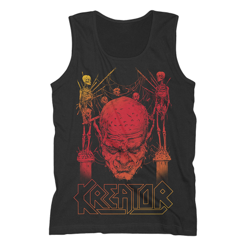 Sunset Skull Tank Top