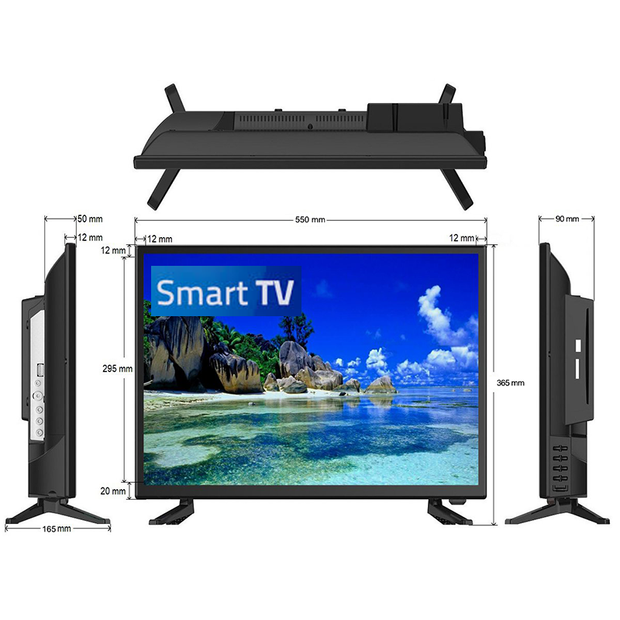 "24"" Full HD LED Television / Smart Wi-Fi TV + HD Tuner 12V/24V/240V - Englaon Australia"