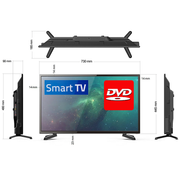 "32"" Full HD LED Television / Smart Wi-Fi TV + HD Tuner + DVD Player 12V/24V/240V - Englaon Australia"