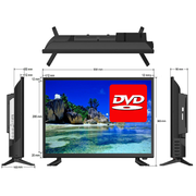 "24"" Full HD LED Television / with HD Tuner + DVD Player 12V/24V/240V - Englaon Australia"
