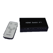 HDMI Switch 4 Input 1 Output With RC Mini V1.3 Support 3D - Englaon Australia