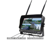 "DVR Monitor 7"" Digital Wireless with 1 to 4 Reverse Cameras - 12/24/36V for Caravan/Truck/Bus/Boat - Englaon Australia"