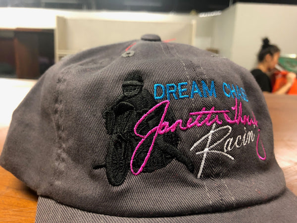 S/M Dream Chaser Racin' Hat Charcoal
