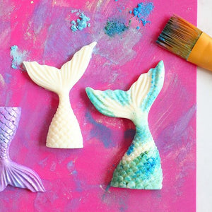 HOW TO MAKE A CHOCOLATE MERMAID TAIL