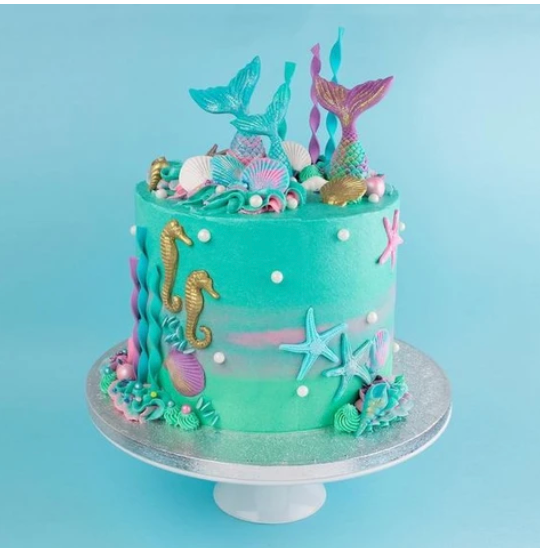 Mermaid Cakes