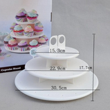 3 Tiers Cake Pop Stand 21pcs