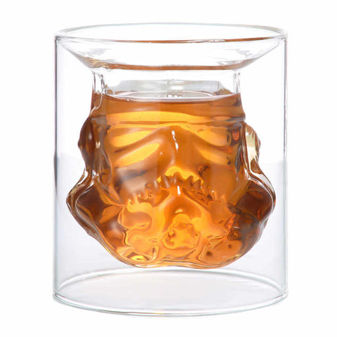 Star Wars Storm Trooper Whiskey Glass and Decanter