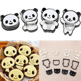 Panda Cookie Cutters