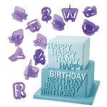 Alphabet Fondant Cutter And Stamp