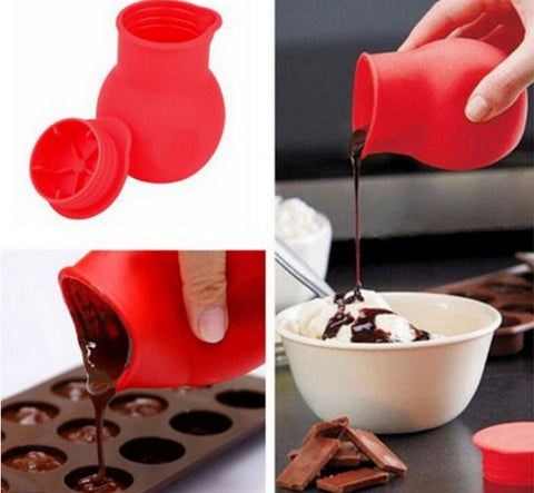 Silicone Chocolate Melting Pot