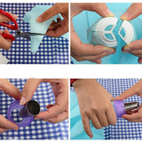 Mix 3 Colors 3 Holes Cake Decoration Converter