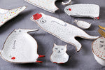 Cartoon Animal Ceramic Dishes