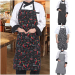 Adjustable Chef Aprons with Pockets