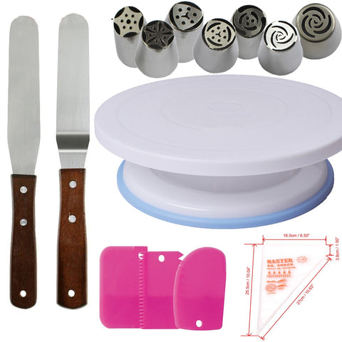 Rotating Cake Stand sets