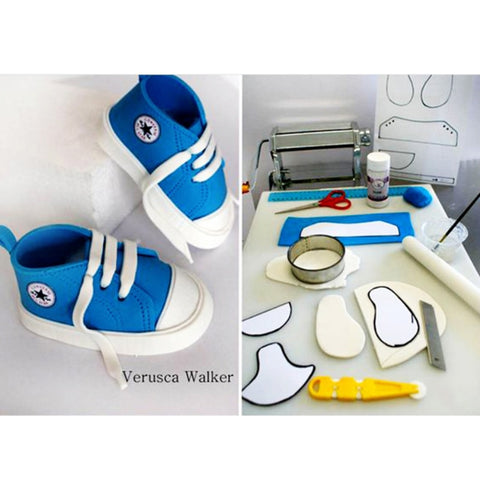 3D Baby Shoes Plastic Mold