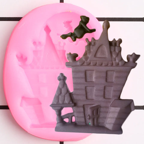 Haunted House Silicone Mold