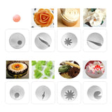 51Pcs Nozzle Set  For Cream Cake Decorating
