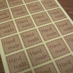 Handmade Vintage Stickers 48pcs 25 * 25mm