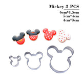 Cute Animals Cookie & Mould Cutters