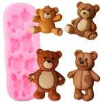 Baby Bears Silicone Molds