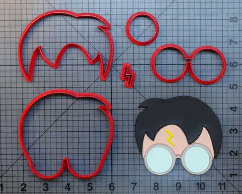 Harri Potter Cookie Cutter Set