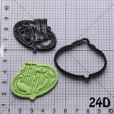 Harry Potter Deathly Hallows Series Cookie Cutter