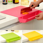 2 in 1  Plastic Chopping Board
