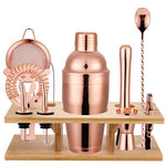 Rose Gold Cocktail Shaker 11 Pcs 750ML
