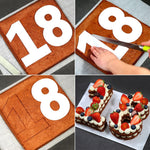 Numbers Cake Cutouts Sets