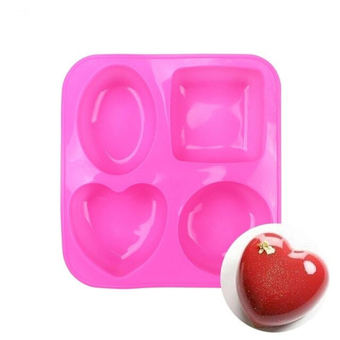 Heart Silicone Mold