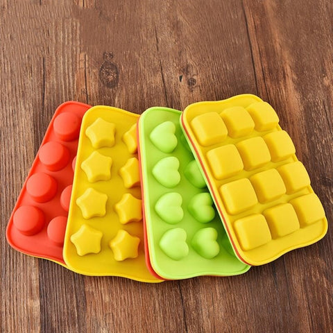 12 Grid Silicone Chocolate Mold