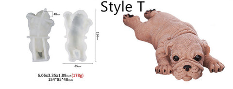 Dog Shape Cake Decorating 3D Mold