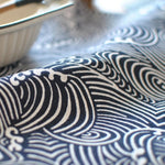 Sea Waves Japanese Style Napkin