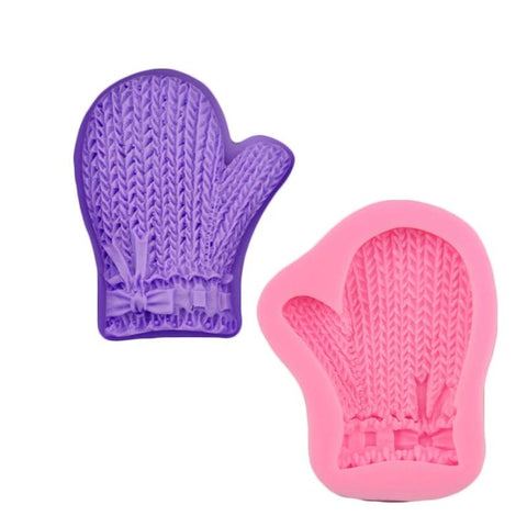 Christmas Glove 3D Silicone Mold