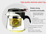 Heat Resistant Glass Teapot Chinese Kettle