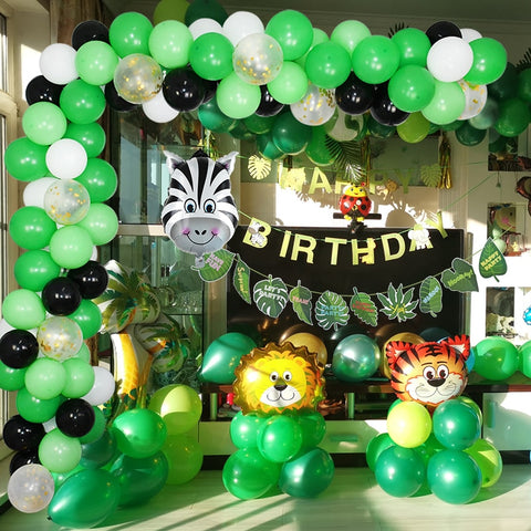 Jungle Safari Birthday Party Decor