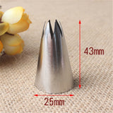 Open Star Stainless Steel Nozzle