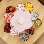 Double-deck Flower Candy Organizer